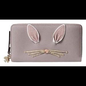 Kate Spade Rabbit Neda Wallet